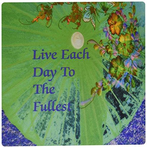 0,3x 0,6cm Maus Pad, Bild von Floral Regenschirm mit Inspirierende Botschaft-(MP _ 174566_ 1) ()