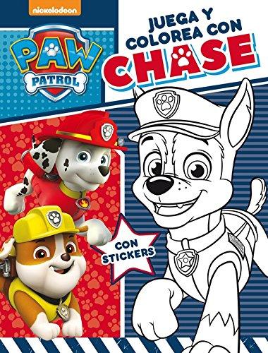 Juega y colorea con Chase (Paw Patrol - Patrulla Canina. Actividades) por Nickelodeon Nickelodeon