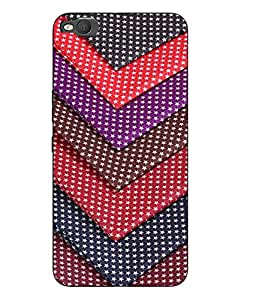 Snazzy Printed Multicolor Hard Back Cover For HTC One X9 Smartphon