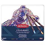 Derwent Crayons de Couleur Multicolore (Boîte de 24)
