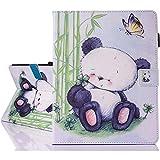 iPad 2 / iPad 3 / iPad 4 Smart Case Cover, A-BEAUTY Painting Premium PU Leather Flip Wallet Slim Book Case for Apple iPad 2 iPad 3 iPad 4, Panda