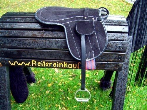 Sattel / Sattelkissen / Reitkissen Komplettset / auch f. Holzpferde NEU
