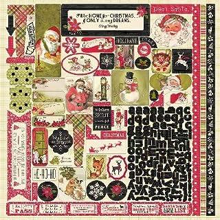 Authentique Paper Nostalgia Cardstock Stickers 12