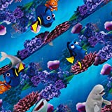Schöner Bw. Jersey -Findet Nemo 2 auf blau/türkis -