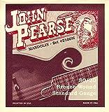 John Pearse 2110M Jeu de cordes pour Mandoline Medium Naturel