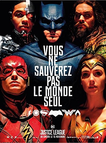 Justice League [4K Ultra HD + Blu-ray 3D + Blu-ray + Digital UltraViolet - Édition boîtier SteelBook]