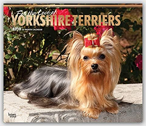 For the Love of Yorkshire Terriers 2018 Calendar