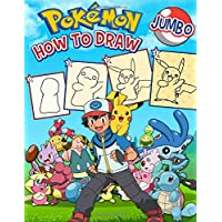 How to draw Pokemon: How to Draw Pokémon Favorite Characters: Learn to Draw Pokemon With Coloring Book