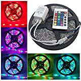 #8: Lowprice Online 5 Meter Waterproof RGB Remote Control LED Strip Light-Color Changing
