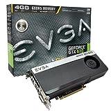 EVGA 04G-P4-2673-KR Grafikkarte (PCI-e, 4GB GDDR5 Speicher, ...