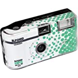Ilford HP5 Plus Black and White Single Use Camera with Built-in Flash and 24+3 Exposure FLIM