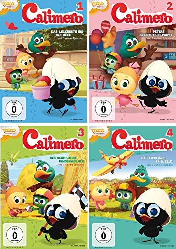 Calimero - DVD 1-4 im Set - Deutsche Originalware [4 DVDs]