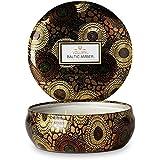 Voluspa 3-wick Bougie parfumée Baltic Ambre édition limitée V-7221-1 - Baltic Amber Limited Edition, Baltic Ambre Édition Limitée, OS