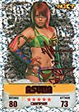 WWE SLAM ATTAX NXT TAKEOVER #18 ASUKA - ROUGE CHAMPION CARTE