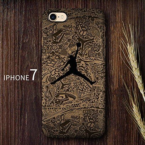 RONNEY'S AIR JORDAN BASKETBALL HEROS SOFT TPU Case for Apple Iphone 5/5S/5SE JD8 JD4