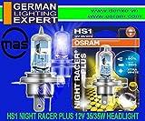 Best Headlight Bulbs - Osram HS1 64185NRP-01B Halogen Headlight Bulb (12V, 35W) Review