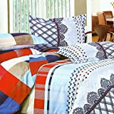 Looms of India Checqured print Bed Sheet...