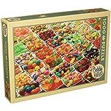 Outset Medios Puzzle 1000piezas 19.25-inch X 27-inch-sugar, Sobrecarga, otros, multicolor