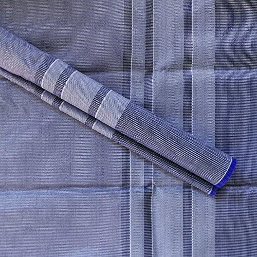 Vorzeltteppich Outdoorteppich 250×300 BLAU Zeltteppich…   04059301167758