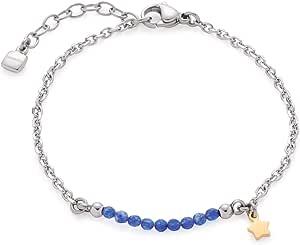 Leonardo Jewels Donna Acciaio Inossidabile Blue Vetro