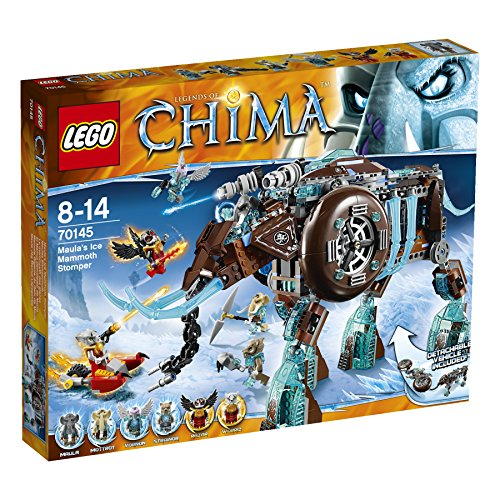 LEGO-Legends-of-Chima-70145-Maulas-Ice-Mammoth-Stomper