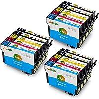 Gohepi 29 XL Compatibili Cartucce Epson 29XL 29 per Epson XP-342 XP-442 XP-245 XP-432 XP-345 XP-247 XP-235 XP-255 XP-257 XP-352 XP-452 XP-455 XP-335,6 Nero/3 Ciano/3 Magenta/3 Giallo,Confezione da 15