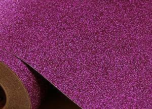 Scintillio sabbia autoadesivo carta da parati [Violet : 0.3 meter X 1.22 meter]