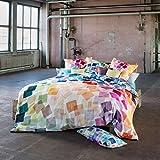Estella Mako-Satin Bettwäsche Puzzle Multicolor 135x200 cm + 80x80 cm