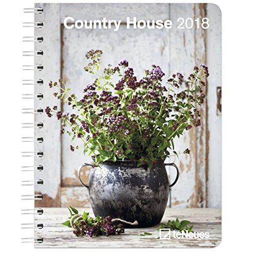 2018 Country House Deluxe Diary - teNeues - 16.5 x 21.6 cm