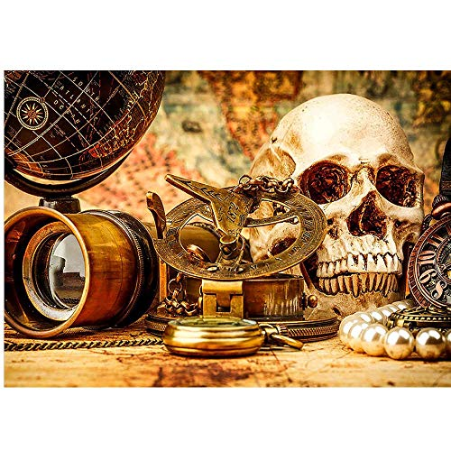 Vanvo Paintings Icoco Halloween 5D Embroidery Paintings Rhinestone Pasted DIY Diamond Painting Wall Decor (Size:30×40cm 12×16inch)