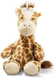 Steiff 68157 Soft Cuddly Friends Girta Giraffe, Hellbraun gefleckt