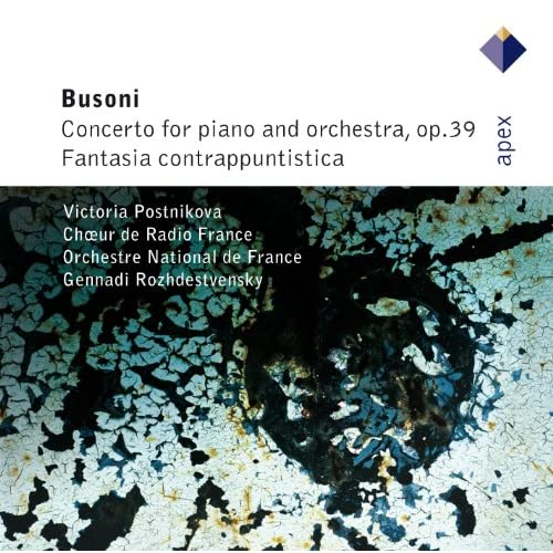 Busoni : Piano Concerto Op.39 : I Prologo e Introïto