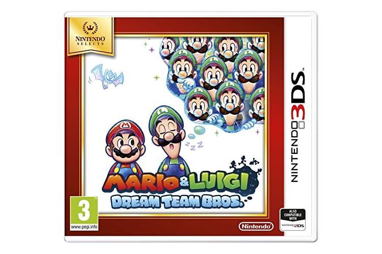 Nintendo Selects Mario and Luigi: Dream Team Bros (Nintendo 3DS)