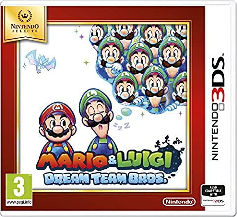 Mario Et Luigi Dream Team Bros 3ds - Mario and Luigi: Dream Team Bros -