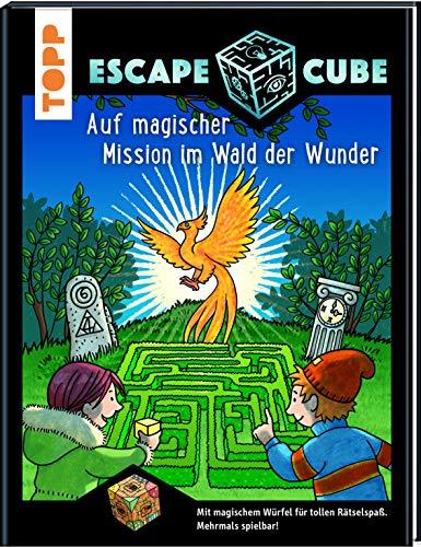 Escape Cube Kids Auf magischer Mission im Wald der Wunder: Das Escape-Abenteuer für Kinder mit dem Zauberwürfel