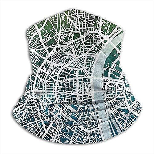 Benson Masefield Köln Deutschland Stadtplan Nackenschutz, Kopfbedeckung, Gesichts-Sonnenmaske, Zauberschal, Kopftuch, Sturmhaube, Stirnband