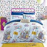Roald Dahl Willy Wonka Kids Duvet Cover Set, Single, Blue