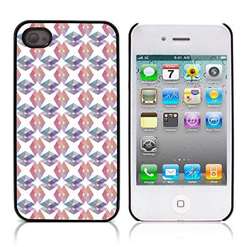 Graphic4You GLITCHY Muster Harte Hülle Case Tasche Schutzhülle für APPLE IPHONE 4 und 4S Design #13
