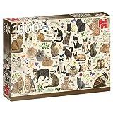 Premium Collection 18595Gatti Poster Puzzle da 1000Pezzi