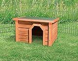 TRIXIE Kleintierhütte NATURA KLEINTIERHAUS braun 40 x 20 x 28cm für Kleintiere - 2