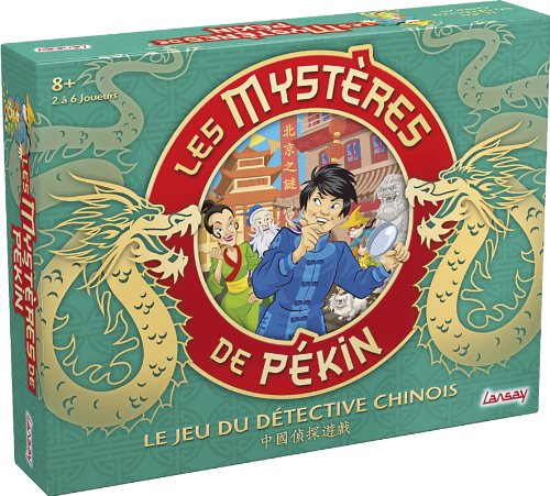 Lansay - 75024 - Jeu de Société - Les Mystères de Pékin