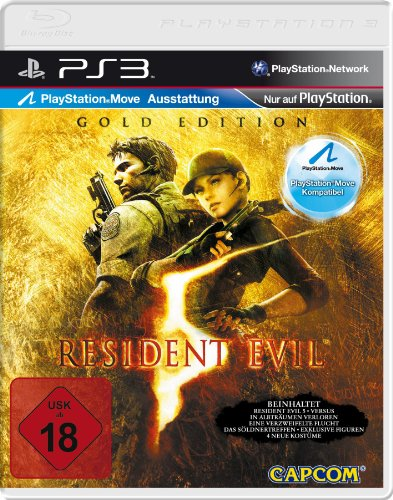 ak tronic Resident Evil 5 - Gold Edition [Software Pyramide] - [PlayStation 3]