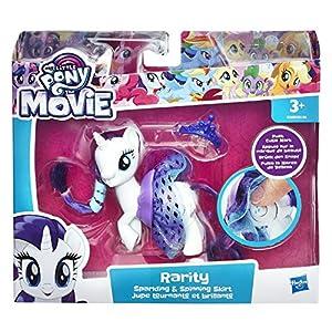My Little Pony E0688EL2 The Movie - Falda Brillante y giratoria, Figura de acción de rareza