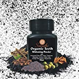 Suwasthi organic Activated Charcoal Teeth Whitening powder (40gm) with the Power of Clove