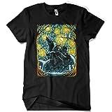 4519-Camiseta Premium,Starry-Forest (ddjvigo)