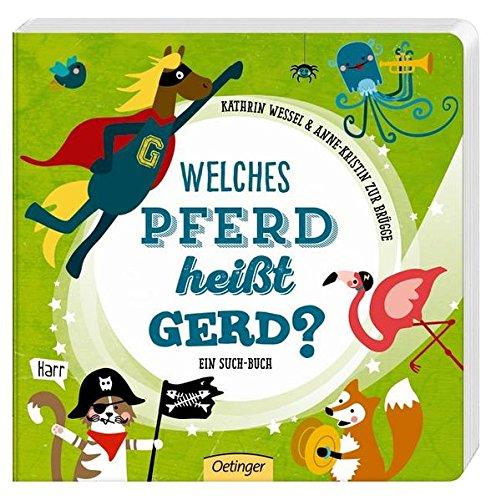 Welches Pferd heißt Gerd?
