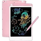 SCRIMEMO LCD Tablette D'écriture 8.5 Pouces Coloré, Ardoise Magique, Jouets pour Enfants, Filles De 3-12 Ans, l'écriture et L