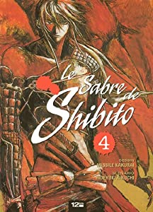 Le Sabre de Shibito Edition simple Tome 4