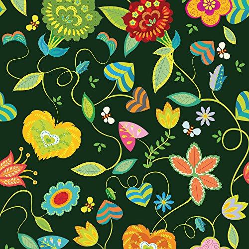 Apple iPhone 5s Housse Étui Protection Coque couleurs Fleurs Fleurs Sideflip Sac
