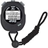 Amble Stopwatch, Countdown Timer and Stopwatch Record 20 Memories Lap Split Time with Tally Counter and Calendar Clock with A